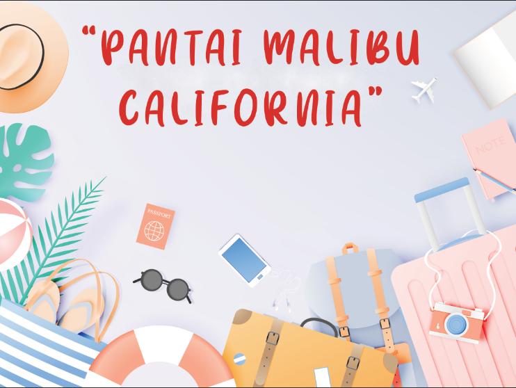 Pantai Malibu California