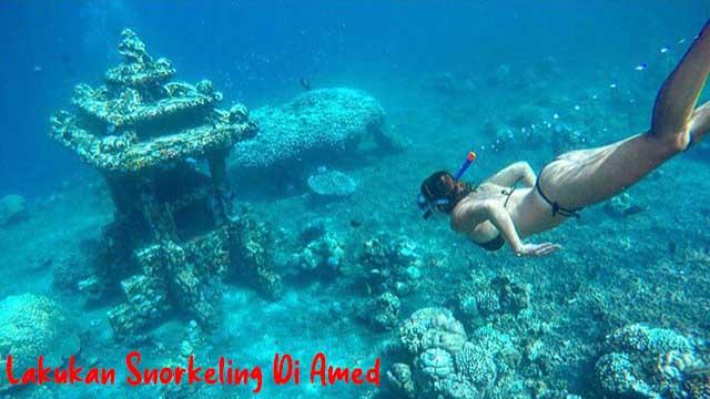 Lakukan Snorkeling Di Amed