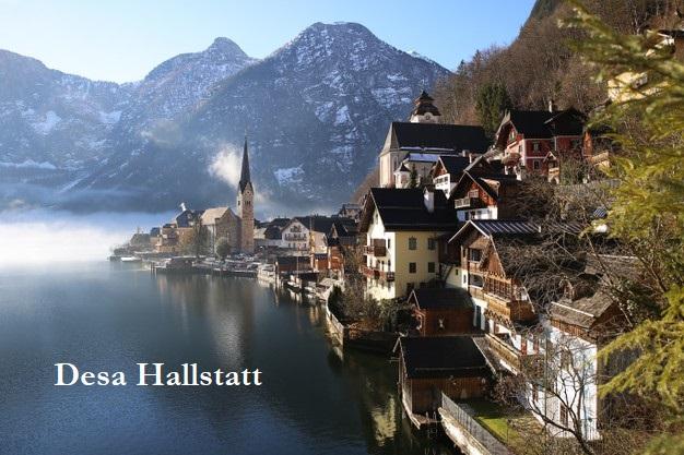 Desa Hallstatt Menjadi Tempat Yang Populer Dikunjungi Di Austria