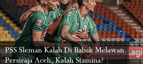 PSS Sleman Kalah